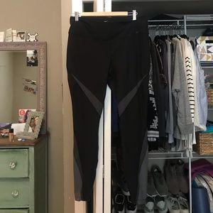 Black and Grey Nike Leggings